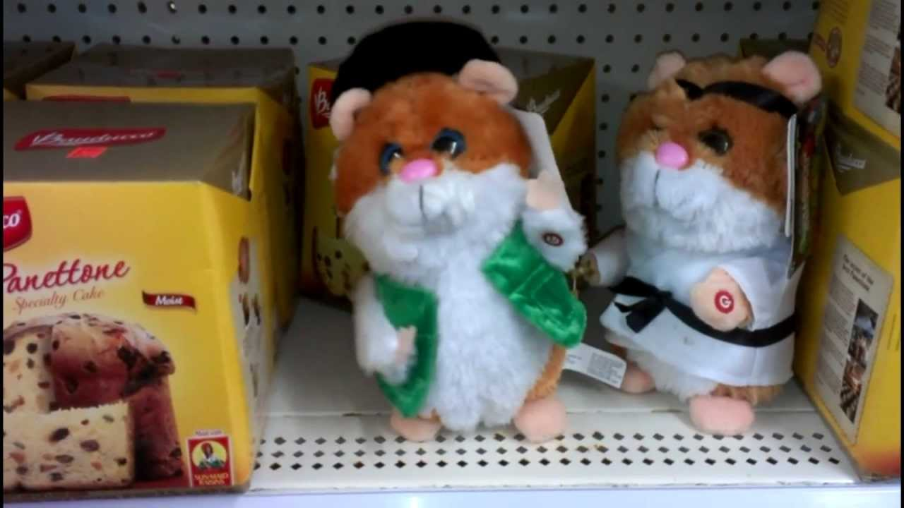 Toys For Your Birthday : Funny toy hamster singing it s your birthday by cent