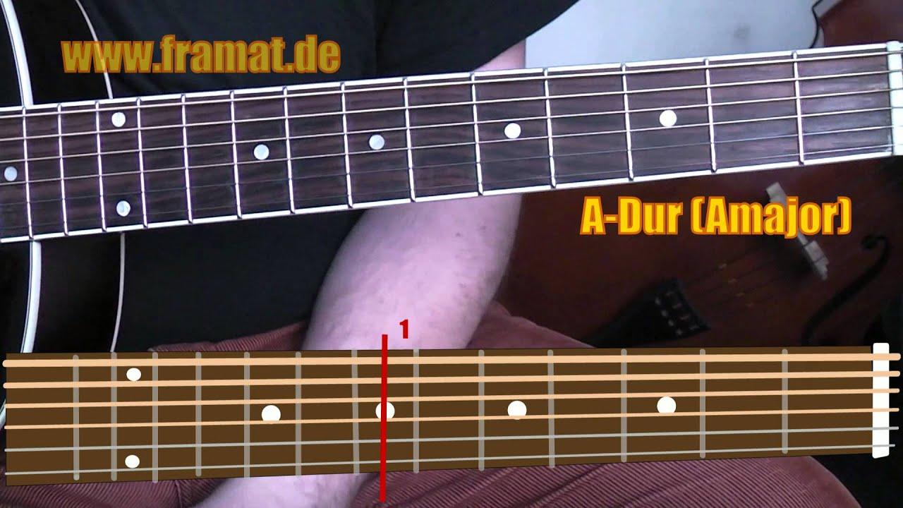Open D Chords Offene D Dur Stimmung Akkorde 1 Youtube