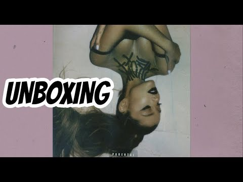 UNBOXING: Ariana Grande - Thank You Next  JJ