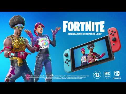 Fortnite Nintendo Switch Trailer  E3 2018