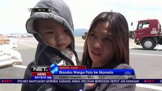 Eksodus Pengungsi Palu Ke Manado Gunakan Layanan Transportasi TNI- NET 24
