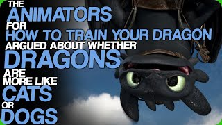 The Animators For HTTYD Argued About Whether Dragons Are More Like Cats Or Dogs (Kitties And Doggos)