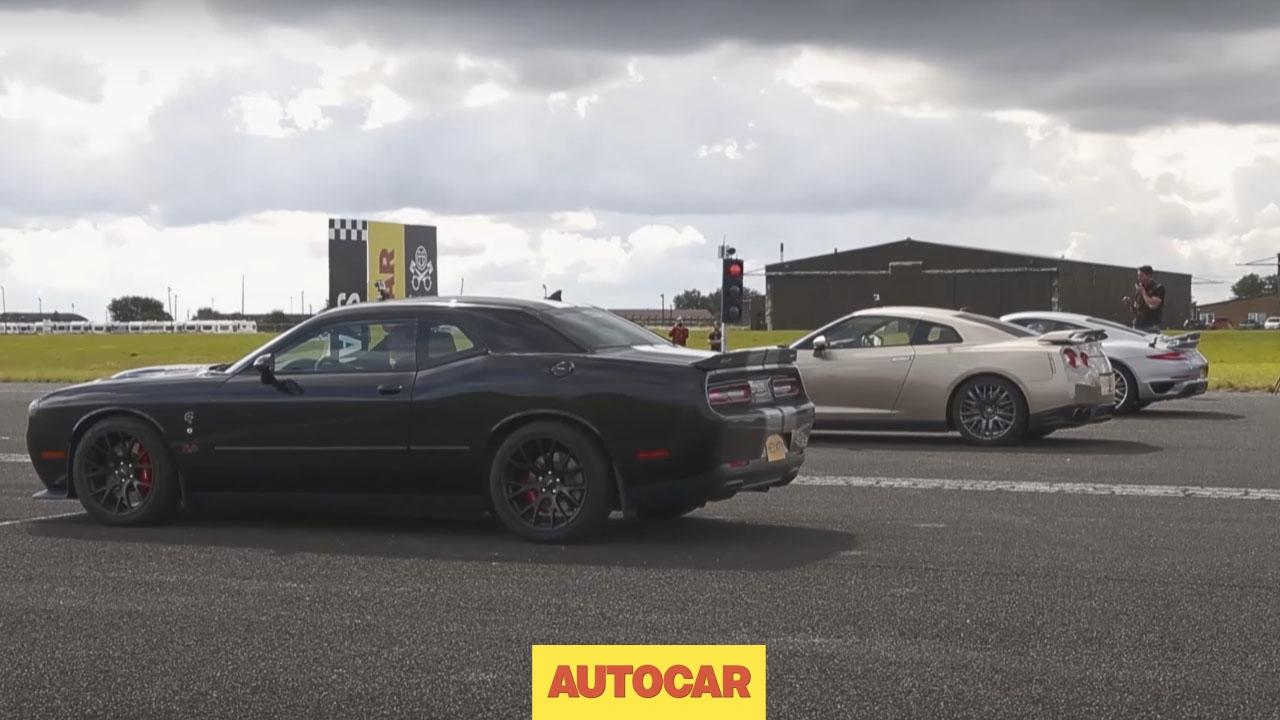 Drag Race Usa V Europe V Japan Dodge Challenger Hellcat Vs