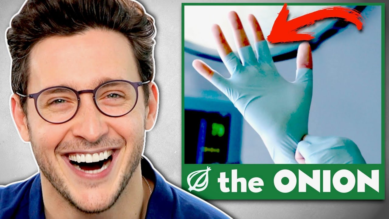 Download Doctor Reacts To FUNNIEST Onion Medical Headlines #1