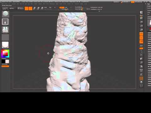 Rock Tutorial Zbrush - Substance Painter - Cryengine