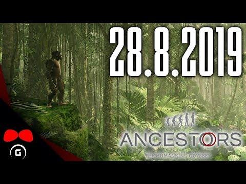 Ancestors: The Humankind Odyssey | #1 | 28.8.2019 | Agraelus | 1080p60 | PC | CZ