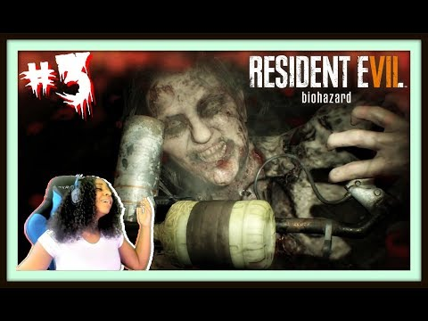 MAMA PLAYING GAMES!! | RESIDENT EVIL 7: BIOHAZARD EPISODE 3 GAMEPLAY!!!