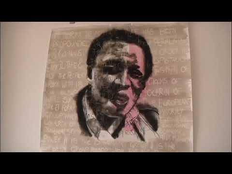 Fine Artist Bambolwami Sibiya showcases his masterpieces