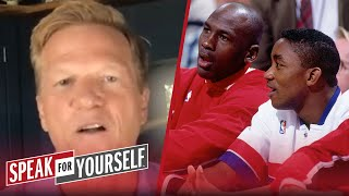 I'm not buying that Isiah Thomas has no issues with Michael Jordan — Ric   NBA   SPEAK FOR YOURSELF