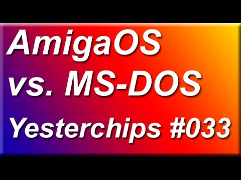 MIGs Yesterchips - Folge #033 AmigaOS vs. MS-DOS (Teil 1)