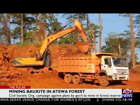 Mining Bauxite in Atewa forest - The Pulse on JoyNews (27-7-18)