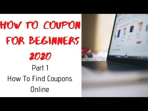How To Coupon For Beginners 2020   How To Find Coupons Online Pt. 1