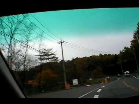 草津から志賀高原道路で信州へ