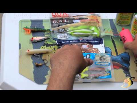 Spotted Sea Trout Lure Selection
