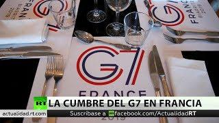 La Cumbre del G7 en Francia, amenazada por las graves discrepancias