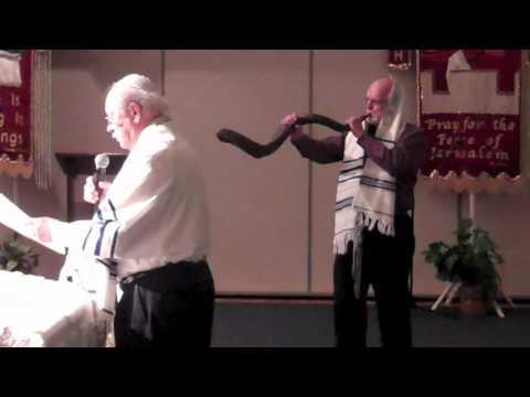 Shofar During Yom Kippur in Houston Kingwood