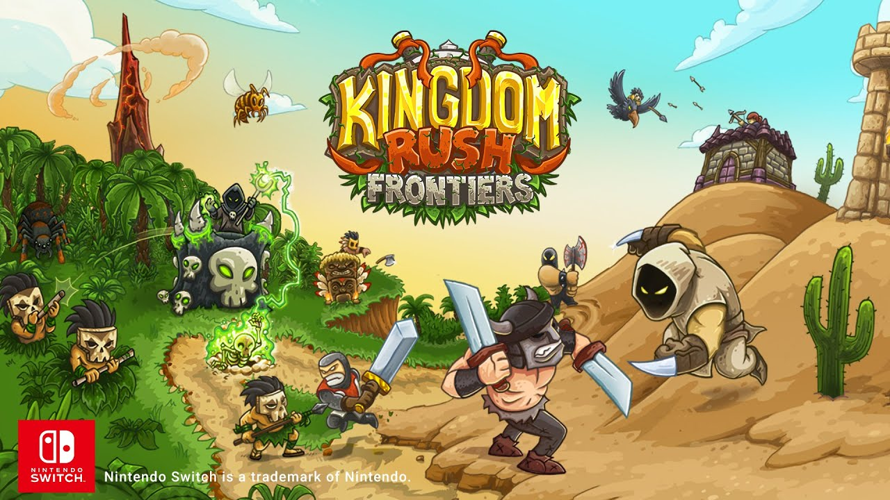 Kingdom Rush Frontiers Official trailer - Nintendo Switch - YouTube