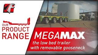 FAYMONVILLE MegaMAX - The low bed trailer with removable gooseneck