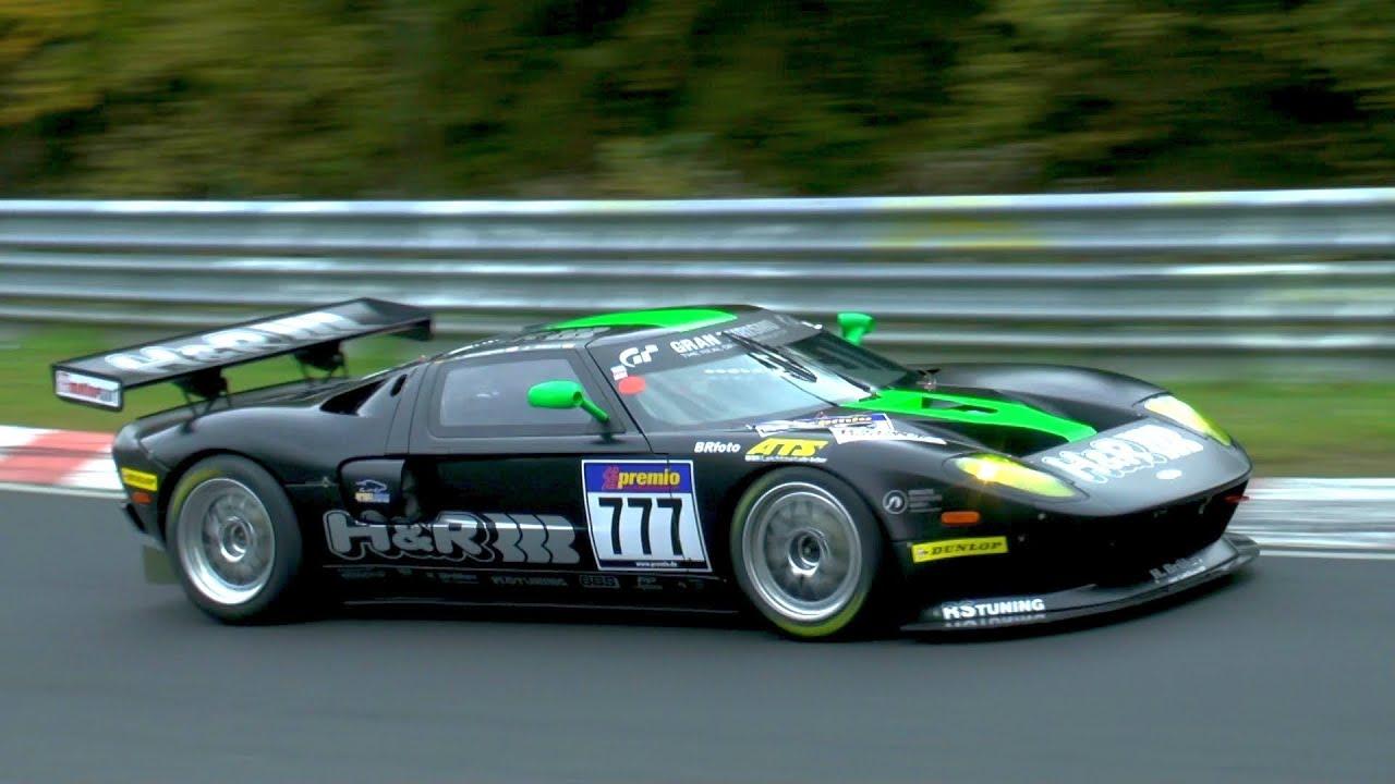 Ford Gt Jurgen Alzen Motorsport Vln Nurburgring Nordschleife