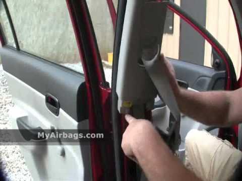 seat belt pretensioner removal instructions youtube. Black Bedroom Furniture Sets. Home Design Ideas
