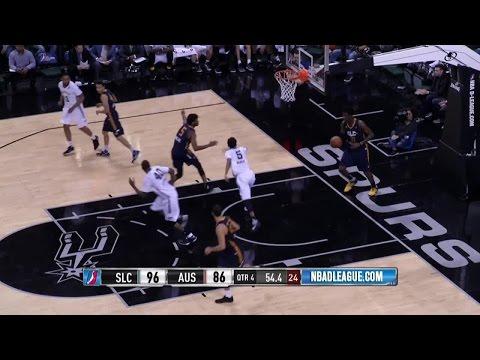 Spurs Rookie Dejounte Murray Drops 30 for Austin Spurs