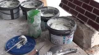 Как правильно работать с затиркой Ceresit CE 40, как затираются швы клинкерной плитки