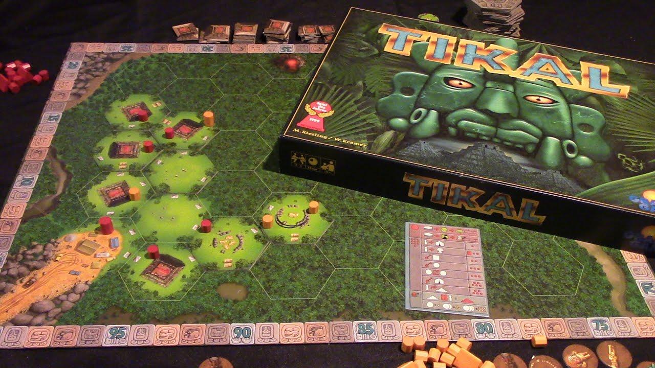 Tikal Brettspiel
