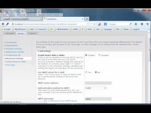Créer Un Forum PHPBB De A à Z : Tutoriel 1