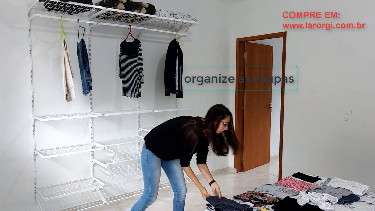 Closet Aramado Preto : Closet aramado