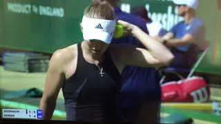 Breakpoint between Kerber and Wozniacki