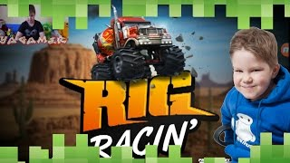 Rig racing - Гонки на машинах видео для детей. YaGamer(Гонки на машинах устраивает Андрей в игре Rig racing. Присоединяйся и ты!, 2016-02-17T09:28:50.000Z)