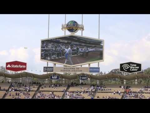 -[DODGERS] Vin Scully Introducing Sandy Koufax at 2015 Old-Timers Game by -Dodger Nation-