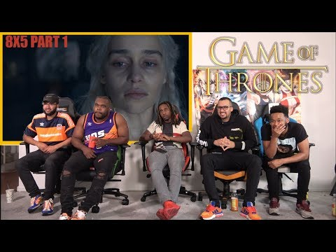 Game of Thrones 8x5 'The Bells' GROUP REACTION/REVIEW PART1