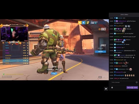 Timthetatman Reacts To New Character Ashe in Overwatch
