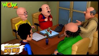 Motu Patlu New Episode  Cartoons  Kids TV Shows  Motu Ka Event Management  Wow Kidz