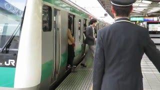 朝ラッシュの時間帯の埼京線の混雑です。特に混雑のピークを迎える時間...