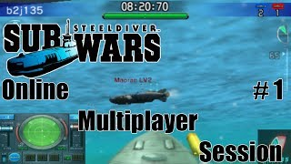 Steel Diver: Sub Wars Online Multiplayer Session #1 [1080p]