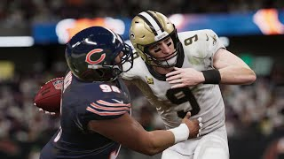 Saints vs bears nfl today live 11/1 action with new orleans chicago in full game highlights the 2020 season live...