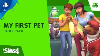 The Sims 4 My First Pet Stuff - Official Trailer | PS4