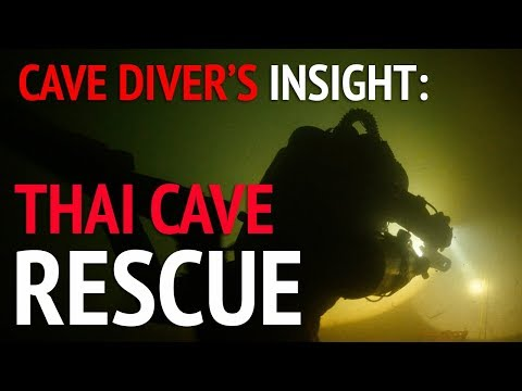 Thai Cave Rescue Explained in Plain Language  a Cave Diver
