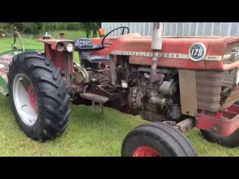 175 MF TRACTOR Massey Ferguson For Sale South Carolina Auction SCauctions.com