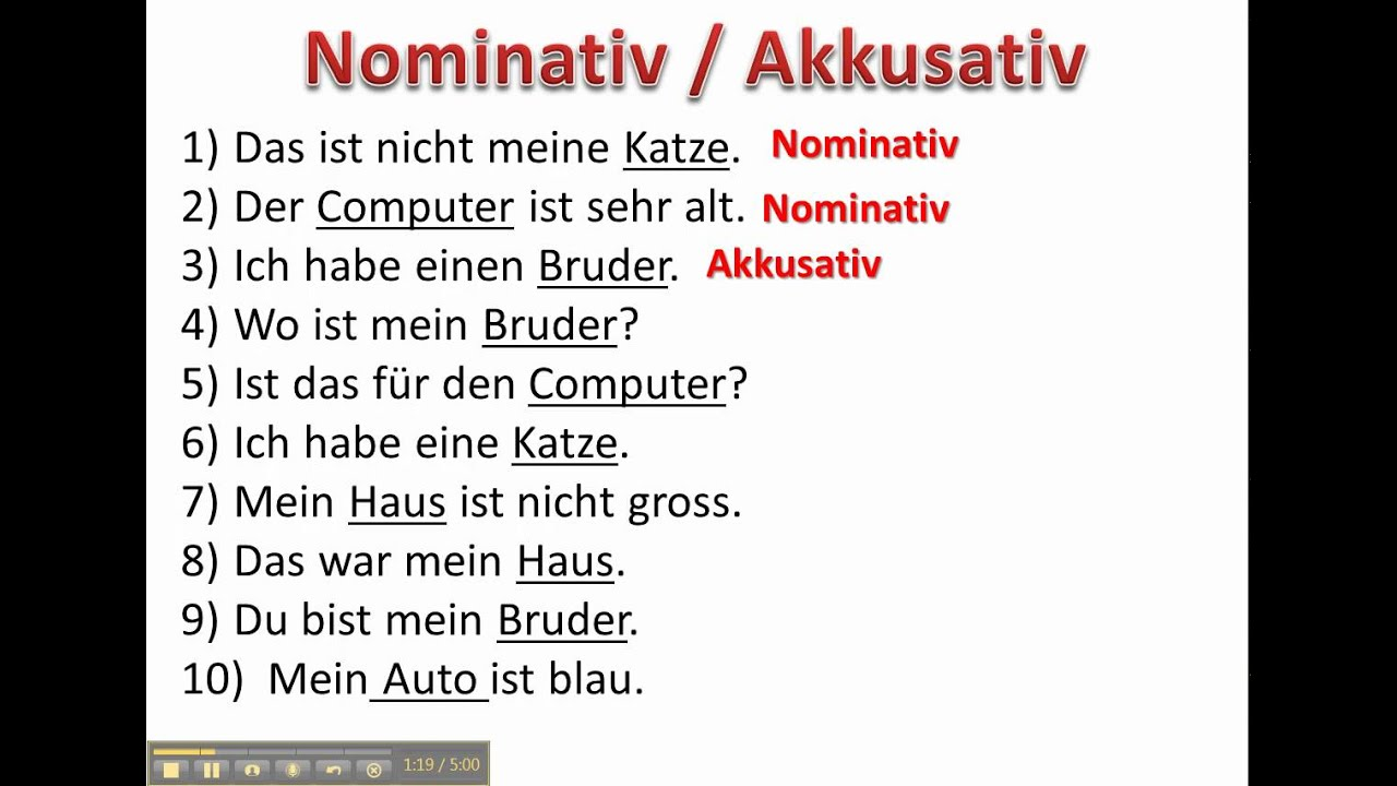 worksheet German Cases Worksheet practice determining if a noun is nominative or accusative www germanforspalding org