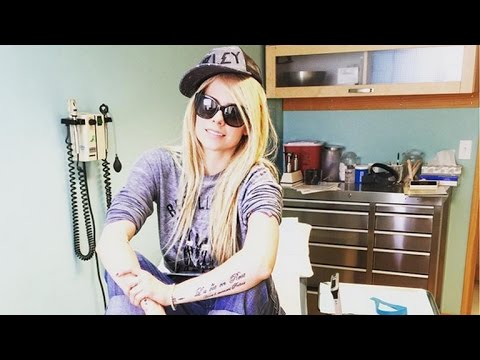 Avril Lavigne Posts Pic Of Vials of Blood From Her Lyme Disease Treatment