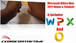 Microsoft Office 2011 Mac Home & Student Edition Unboxing