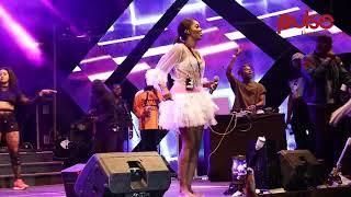 Tiwa Savage Performance At REDSAN'S #baddestalbumlaunch