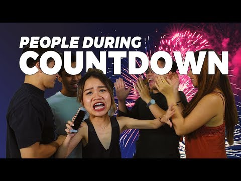 People During Countdown