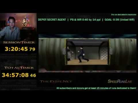 Depot Secret Agent 0:40 (21) (SUPER LOW, ALMOST 39)