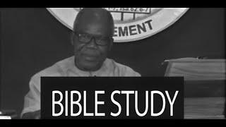 Bible Study - Online Fellowship 02/07/2020