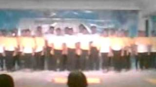 BSED 2-T Speech Choir 2010 (SONG OF THE TEARGAS MAN)