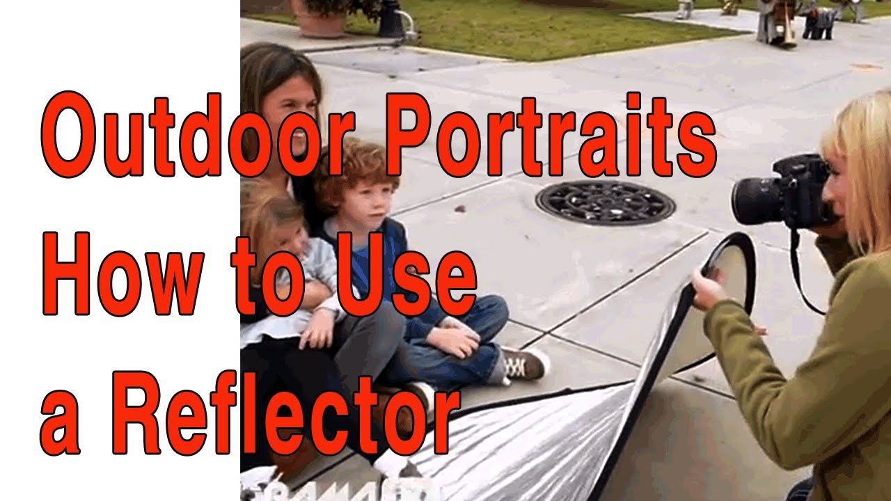 How to use a reflector for outdoor family portraits with natural how to use a reflector for outdoor family portraits with natural light youtube aloadofball Choice Image